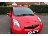 Toyota Yaris in Immaculate condition, MOT until jul 2017, selling due to no longer need extra car