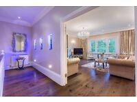Newly refurbished four bedroom apartment in Belsize Park