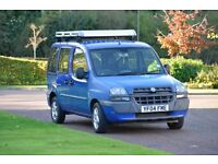 Fiat Doblo 1.9 JTD good runner with 7 months mot, roof rack and tailgate ladder.