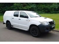 2012 Toyota Hilux.. 4WD.. 4 Door Double Cab Pickup.. 2.5 D-4D.. Nice Example.. Bargain..
