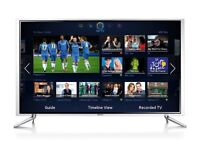 Samsung 40 Inch Full HD 3D LED Smart TV Box With Everything - Like New