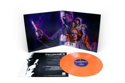 HALLOWEEN 2 Soundtrack Vinyl MONDO Orange -SOLD OUT (Halloween 2 Vinyl)