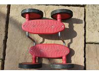 Pedal racer balance board