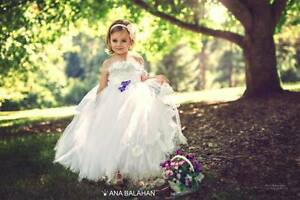 NEW Flower girl dress, Tutu dress, Girls dress, Birthday dress Glen Waverley Monash Area Preview