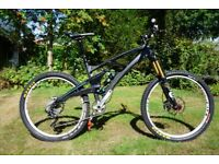 2013 Carbon Whyte 146 works medium MTB