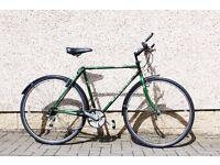 bike men's hybrid ,Raleigh pioneer,vintage .retro only £140