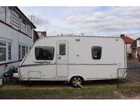 ABBEY FREESTYLE 480 WITH KAMPA AIR AWNING AND EXTRAS
