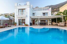Holiday Villa - Kalkan, Turkey - sleeps 8 In 4 bedrooms. £1500/week for whole villa.