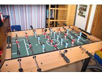 4-in-1 Games Table - Table Football, Air Hockey, Pool and Table Tennis