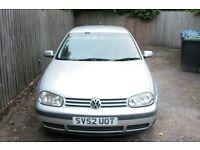 VW Golf TDI Great Bargin Quick Sale HPI Clear