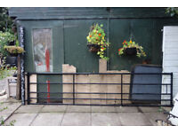 12ft Garden Gate with Pole