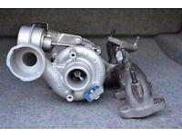 Garrett Turbocharger for Audi, Seat, Skoda, Volkswagen - 2.0 TDI - 136 / 140 BHP. Turbo 724930.