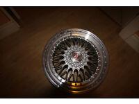 4 X Calibre alloys (Brand new)
