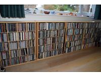 Around 1000 music CDs, rock, pop, soul, Indie, dance, 60s to present, happy to split