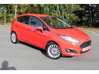 FORD FIESTA 1.5 TDCI TITANIUM LOW MILES, £ Zero Tax, HUGE SPEC F.S.H Reluctant Sale