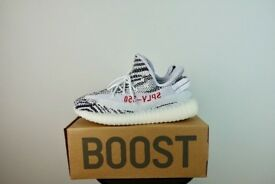 Yeezy 350 Zebra Boost Size 9UK Brand New