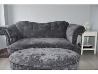 Sofa and stool for sale