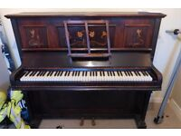 Piano going for free. One wire broken and will probably need tuning. Buyer will have to collect.