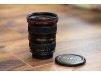 Canon zoom lens F4 17-40mm L USM