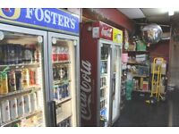 OFF LICENSE SHOP WITH BASEMENT