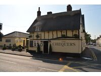 Waiting Staff Needed for Bedfordshire Pub of the Year