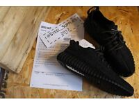 Adidas Yeezy Boost 350 Pirate Black (2016) UK 10.5 with Adidas Papers BRAND NEW!