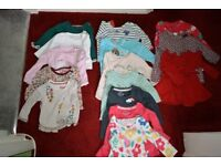 Baby girl clothes, 3-6 months & sleeping bags