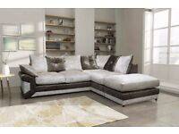 """CRUSH VELVET"" MAX DIAMOND CORNER SOFA/UNIT ------(""SPECIAL OFFER!"")"