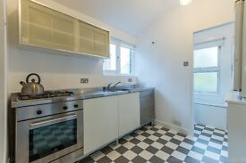 A lovely one bedroom flat on floor of a charming early Victorian terraced cottage in East Dulwich.