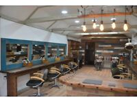 Barber/Ladies hair salon to let