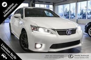 2013 Lexus CT 200h F SPORT * 94$/sem garantie 3 ans/60000 km*