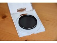 Jessops 62mm polarising filter and Fox Talbot 62mm Skylight filter, both in very good condition