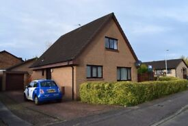 Attractively presented, spacious UNFURNISHED four bedroom detached house in quiet cul-de-sac.