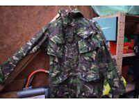 Rare British Army Issue MK2 Windproof Commando Smock - XL