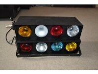 2x Sound Activated Disco Light
