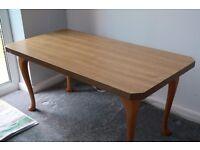 Wood Veneer Coffee Table
