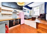 BARING STREET, N1: LOVELY 1 DOUBLE BEDROOM FLAT, OPEN PLAN KITCHEN - RECEPTION & PRIVATE GARDEN
