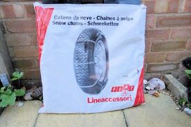 Snow Chains - size 185/14 Lineaccessori, Never Been Used, As New, Histon