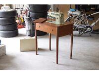 1960's Vintage Singer 507 Sewing Machine Table