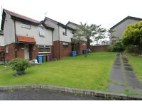 Unfurnished 2 bedroom mid-terrace house on Saughs Drive, Robroyston