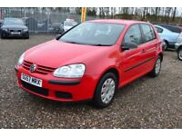 2007 Volkswagen Golf 1.4 S 5dr / Finance Available / Year MOT !