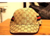 Beige GUCCI Snapback Hat Cap: Unisex NWOT