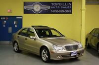 2005 Mercedes-Benz C-Class 4Matic * LEATHER * SUNROOF * AWD *