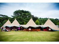 Crew for The Stunning Tents Company and Ten by Fifteen Structures