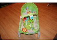 Fisher Price Rainforest Baby/Toddler Rocker/Sleeper/Chair