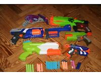 Amazing Nerf Gun Bundle; Strongarm, Firestrike, XShot, Zombie Strike, Crossbow