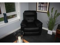 Reclining Chairs TWO (2) New leather chairs