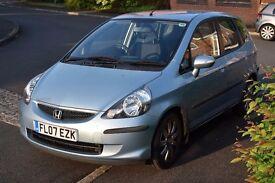 Honda Jazz 1.4 i-DSI SE CVT-7 automatic 5 door hatchback, good condition, low mileage