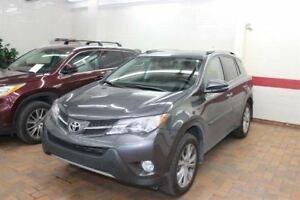 2015 Toyota RAV4 Limited AWD UN SEUL PROPRIO, JAMAIS ACCIDENT&Ea
