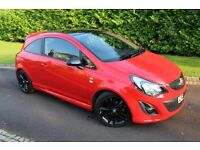 2012 VAUXHALL CORSA 1.2 i 16V LIMITED EDITION (damaged repairable cat d fiat toyota bmw honda ford